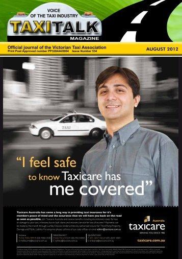 August 2012 - Taxi Talk Magazine