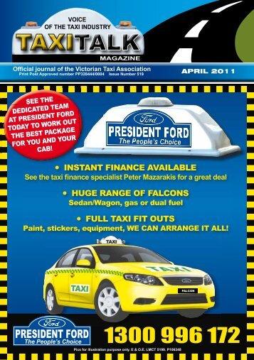 Pics For Illustration Purpose - Taxi Talk Magazine