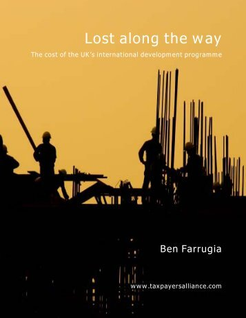 Lost along the way - The TaxPayers' Alliance