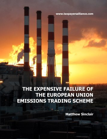 the expensive failure of the european union emissions trading scheme