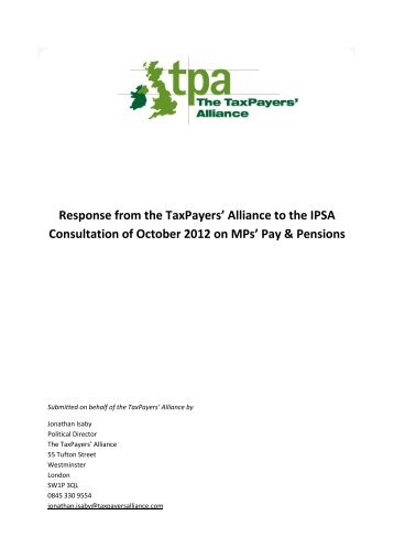 can be found here - The TaxPayers' Alliance