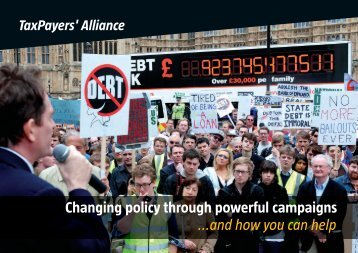 Annual Review - The TaxPayers' Alliance
