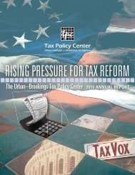 View the entire report as a PDF - Tax Policy Center