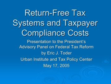 Portable Document Format (PDF) - Tax Policy Center