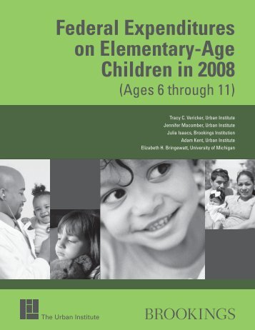 Federal Expenditures on Elementary-Age Children ... - Urban Institute