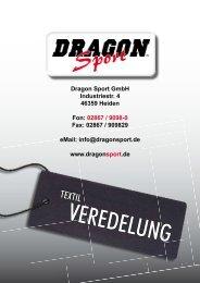 Dragon Sport TEXTIL-VEREDELUNG