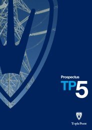 Prospectus - The Tax Shelter Report