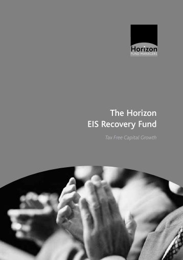 The Horizon EIS Recovery Fund - The Tax Shelter Report