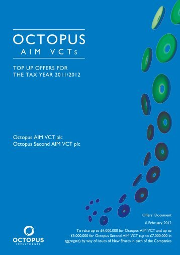 OCTOpus - The Tax Shelter Report