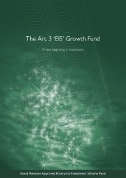 The Arc 3 'EIS' Growth Fund - The Tax Shelter Report