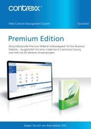 Factsheet - Contrexx Premium Edition - Tazuloo
