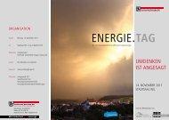 EnErgiE.TAG - Technische Betriebe Wil