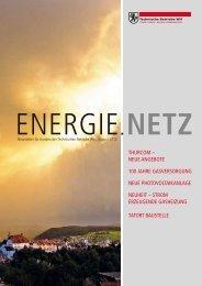 Energie.Netz 2012 August - Technische Betriebe Wil