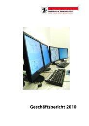 Geschäftsbericht 2010 - Technische Betriebe Wil