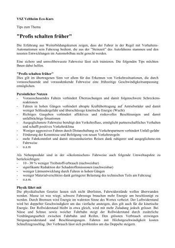 Profis schalten früher (PDF, 4 Seiten, 17 kB)