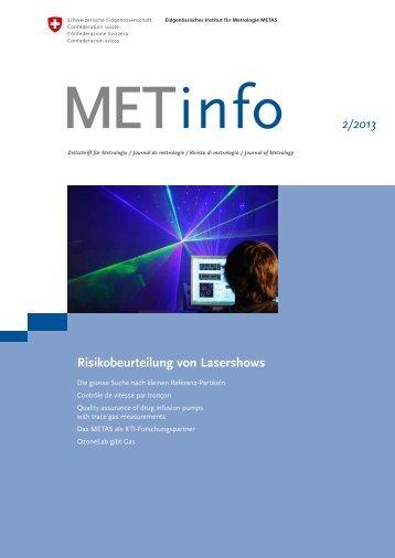 info 2/2013 Risikobeurteilung von Lasershows