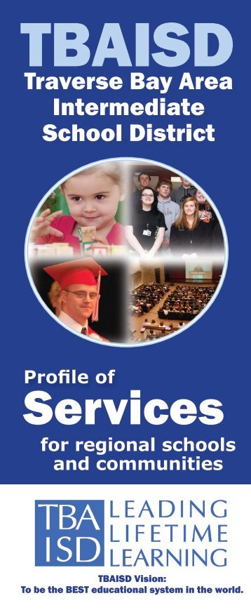 Profile of Services Guide - Traverse Bay Area Intermediate School ...