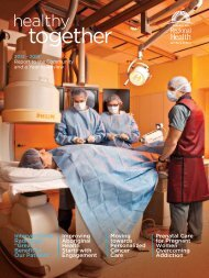 2013 TBRHSC Annual Report - Thunder Bay Regional Health ...