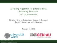 A Folding Algorithm for Extended RNA Secondary Structures ... - TBI