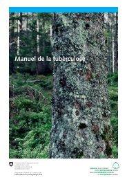 Manuel de la tuberculose (édition juillet 2011)