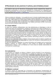 6 procédure de déclaration et surveillance épidémiologique