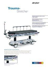 Trauma- Stretcher - TBM Medizintechnik GmbH