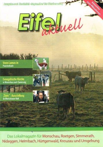 Eifel aktuell Ausgabe 09.2014