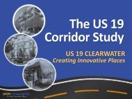 US 19 CLEARWATER - Tampa Bay Regional Planning Council