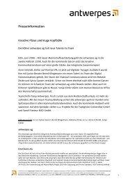 Presseinformation - DocCheck AG