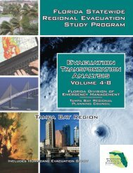Evacuation Transportation Analysis - Tampa Bay Regional Planning ...