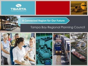 2013 TBARTA Master Plan Update - Tampa Bay Regional Planning ...