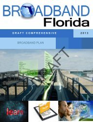 BROADBAND PLAN - Tampa Bay Regional Planning Council