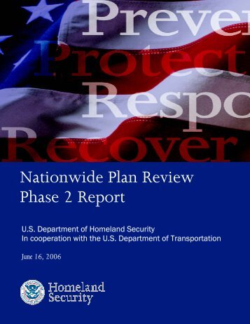 Nationwide Plan Review: Phase 2 Report