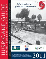2011 Hurricane Guide - Tampa Bay Regional Planning Council