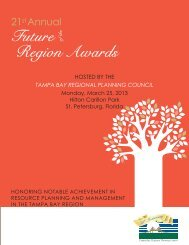21st Annual Future of the Region Awards Commemorative Program