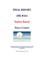 report attached - Tampa Bay Regional Planning Council