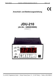 JDU-210 - WS Weinmann und Schanz GmbH