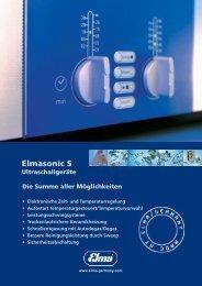 Elmasonic S Ultraschallgeräte - Elma Gmbh & Co. KG