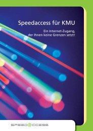 Speedaccess für KMU - Technische Betriebe Weinfelden