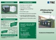 Affaldssortering i Flensborg - TBZ Flensburg
