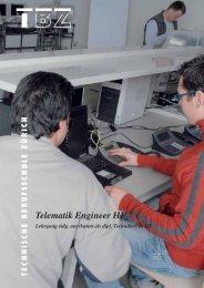Telematik Engineer HF - Technische Berufsschule Zürich