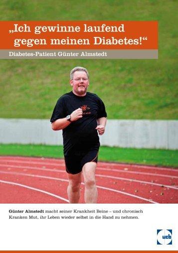 """"""" Ich gewinne laufend gegen meinen Diabetes!"""" - Diabetes - UCB"""