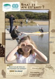 WHAT IS AN ESTUARY - Corangamite CMA Knowledge Base