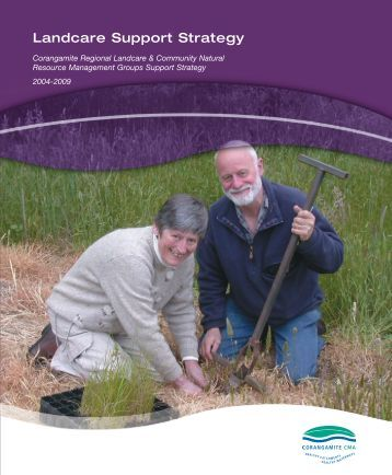 Landcare Support Strategy - Corangamite CMA Knowledge Base