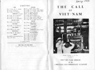 THE CALL V I E T N A M - IndoChina1911