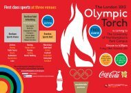 Coca Cola Olympic Torch Relay - Abae