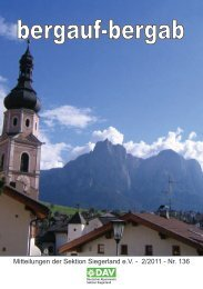 Klettersportgruppe Dillenburg - Deutscher Alpenverein, Sektion ...