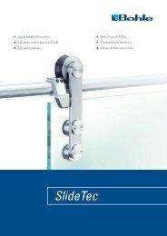 Flyer SlideTec - Bohle