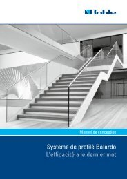 Gebrauchsanweisung / Instructions for Use / Mode d ... - Bohle AG