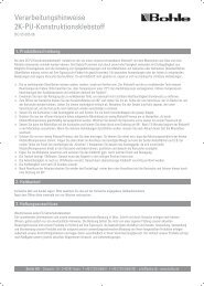 2009-2487 2k-PU Verarbeitungshinweise:Vorlage.qxd.qxd - Bohle AG